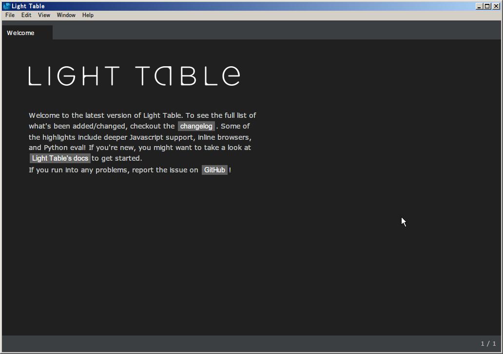 Editor-LightTable