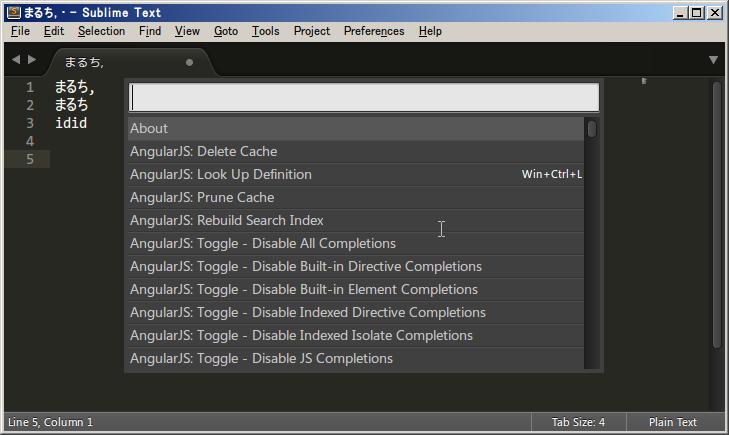 Editor-SublimeText3