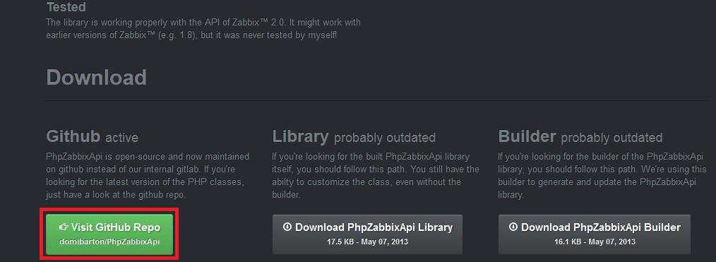 phpZabbix