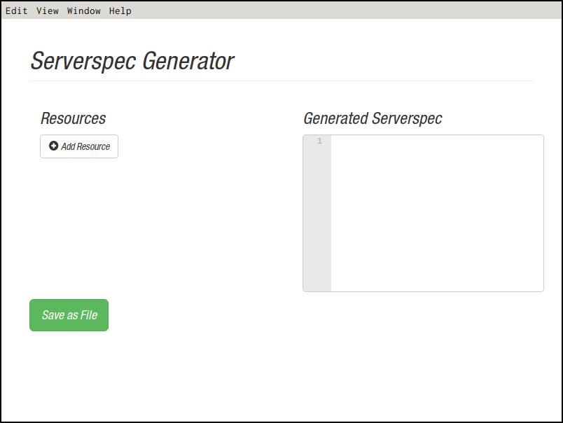 serverspec-generator