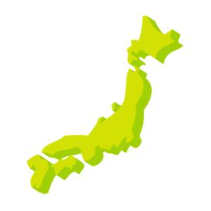 日本地図3D (1)