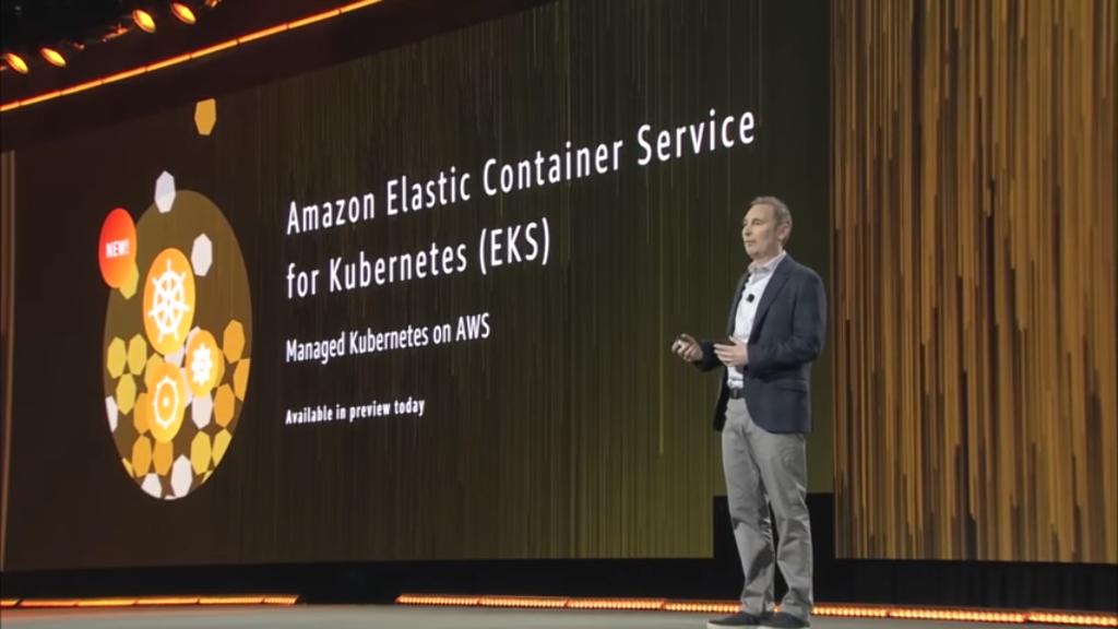 【AWS re:Invent 2017】【初心者向け】Dockerから説明するAmazon ECS, EKS, Fargate